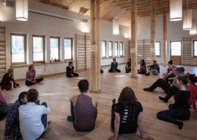 Warsztaty terapii tańcem i ruchem - Iza Guzek IBA