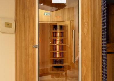 sauna na podczerwień