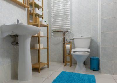 ośrodek oddechowo domek łazienka