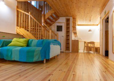 ośrodek rozwojowy oddechowo domki wnętrze