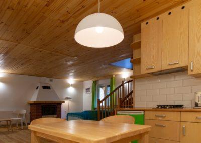 oddechowo domki aneks kuchenny